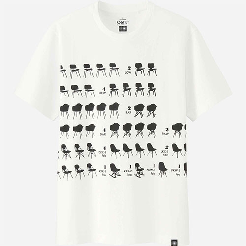 New Uniqlo x MoMA SPRZ NY Charles and Ray Eames graphic tees coming 3/26.