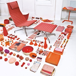Awesome images from this vintage Eames Aluminum Chair brochure...
