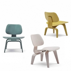 Herman Miller is re-issuing the Eames LCW chair in new (awesome) colors as part of the centennial celebration of Charles Eames birth.