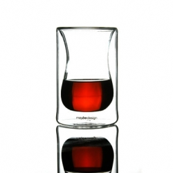 East meets west... A great design from Erdem Akan for Maybe Design.  A clasical turkish tea glass meets the water glass shape of  the west...