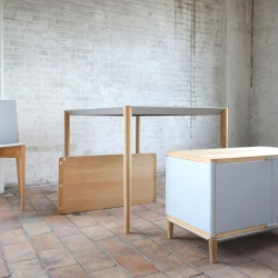 Magnetic Furniture by Benjamin Vermeulen Just snap and click and pop those pieces together. Amazing.