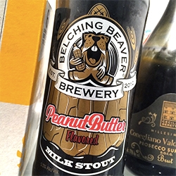 Belching Beaver Brewery of San Diego - delicious beer and adorable beaver logo!