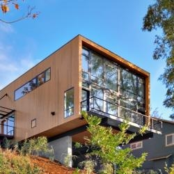 The recently completed EB1 Residence by Replinger Hossner Architects. Located in Seattle, Washington.