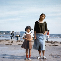 "In her ""Imagine finding me"" series, photographer Chino Otsuka creates double self-portraits by placing her present-day self into photographs from her past."