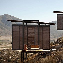 Gracia Studios designed ecoLofts, 20 elevated cabins in Mexico's wine country.