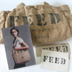 Purchasing 1 FEED Bag = 1 Hungry Child Fed for 1 School Year in a developing nation.