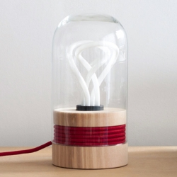 Edison is maybe the best use of the Plumen bulb out there. Love the re-thinking of functionality and aesthetically pleasing result.
