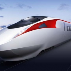 "Kawasaki recently announced that it is developing Japan's fastest high speed train!  The ""Environmentally Friendly Super Express Train"" will propel passengers along at 217mph, besting the record-holding Shinkansen's 186mph."