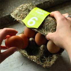 Happy Eggs ~ fun egg packaging concept by Maja Szczypek