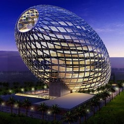 The latest future forward design from James Law is the highly intelligent 'Cybertecture Egg' for Mumbai, India.
