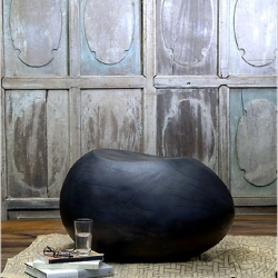 "this week's personal shopper features stylish uses or ""reclamations"" of wood.  this egg stool or side-table is one of the most sensuous pieces i've ever seen.  i just want to touch it..."