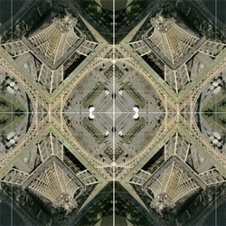 "Rorschmap - James Bridle's kaleidescopic twist on Google Maps ~ letting you explore the globe through a lens unlike any other ~ let it simple ""GO!"" and it will mesmerize you as it flies through the world..."