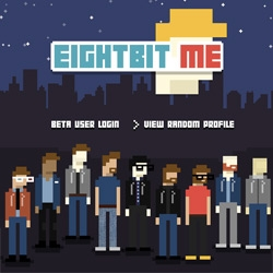 EightBit.Me ~ you can make an 8-bit avatar!