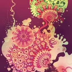 Amazing trippy illustrations.