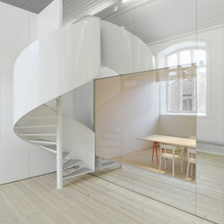 The No Picnic product design offices in Stockholm, Sweden, by architects Elding Oscarson.