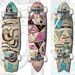 Our Mountain Skateboard Decks by Steven Harrington.