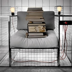 Electric chair by Aleksej Isko is a reading chair and not the other more commonly known type.