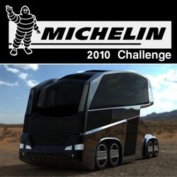 The first entry in the Electric-Powered Michelin 2010 Challenge is the Electro Bionic Bus by Mohammad Ghezel - we think it's positively Twisted Metal material.