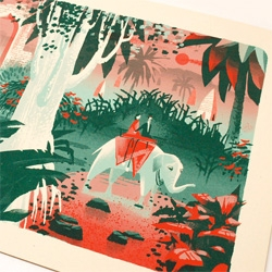 Limited edition India print by Chris Turnham