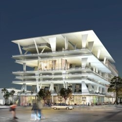 The Eleven Eleven Lincoln Road project in Miami, Florida.  Designed by Herzog & De Meuron.