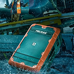 Pelican launches new Pelican ProGear watertight, crushproof, lightweight luggage.