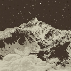 """Snowblinded aka Anthony Cozzi has a new print for sale. Elk Peak is a limited edition 18x24"""" screen print. Signed and numbered."""