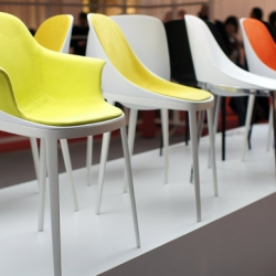 Eugeni QUITLLET and Alias presented during the Milan Design Week 2012 the beautiful chair ELLE...