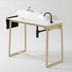 The Washstand by German designer Janis Ellenberger is a cool concept for a one of a kind product. It would fit perfect into small apartments. part of the Private Space collection.
