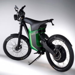 Elmoto is German engineering at its best. The lightweight e-bike, a sleek looking solution for in city commutes.