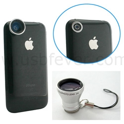Awesome idea ~ magnetic lenses for the iPhone!