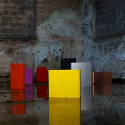 "Swedish company ""emedius"" launches a new product; an electrical cabinet that makes your house more colourful and interesting. Way to go, no reason for electrical cabinets to be grey and hidden away!"