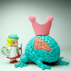 Love what Kenny Wong did with Molly x Jumping Brain ~ beautiful!