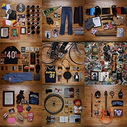 The ABOUT page at Cornett in Lexington, KY - love the gear filled flat lay pics for each member of their team.