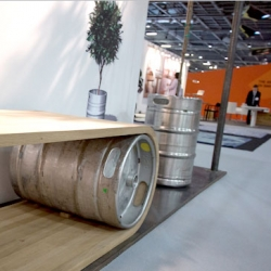 """The end of the Big Beer Barrel"" from Switzerland-based Yask asks what will become of the larger beer barrels as they are retired from use. Fascinating project and one of our highlights from London's May Design Series."