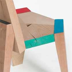 The Endy series from Studio Ve made from typically discarded timber's ends.