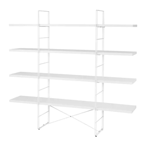 IKEA brought back the ENETRI shelf! One of my favorites that moved thru many college apartments with me! Would look great upgraded with wood planks too...