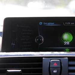 BMW Announces the First Integration of EnLighten App - your car can know when a light will change!