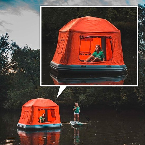 SmithFly Shoal Tent - sleep floating on the water!