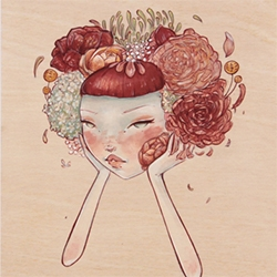 Artist Alyssa Mees just launched her shop! Some stunning prints and originals available.
