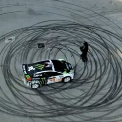 DC and Ken Block present Gymkhana Four: The Hollywood Megamercial.