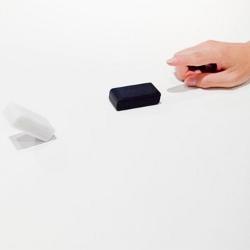 Esper Dominoes are contactless domino tiles that work using wireless technology to create non-touch domino effects.