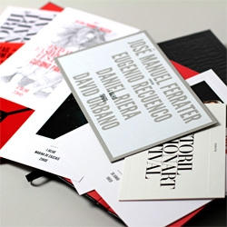 Estoril Fashion Art Festival Invitation box set by MusaWorkLab.