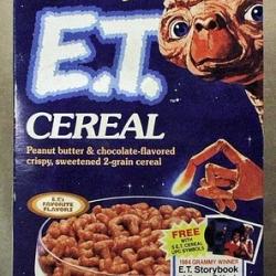 30 retro breakfast cereals.