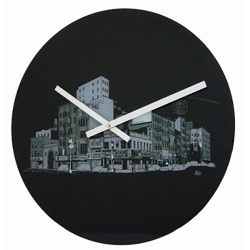 Okay so we know that Target has been hooking up with some big name designers. Now they're hooking up with some smaller designers like Evan Hecox. I want this clock! And it's glass, not plastic!