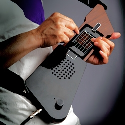 The Fingerist is a new iPhone/iPod touch accessory that enables you to play your music applications as if you were actually playing musical instruments.