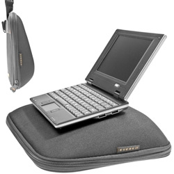 Everki Camber EVA Netbook Case ~ on more multipurpose laptop cases, here's another that doubles as an nice ergo stand/desk!