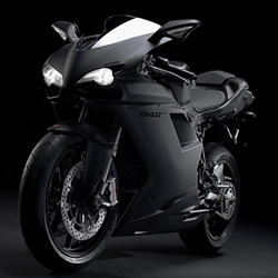 Ducati Superbike 848 Evo - stunning in matte black especially