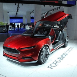 Photosynth of Ford Evos Concept from Frankfurt IAA 2011. Also featuring Fiesta ST Concept, Focus ST and B-MAX Concept.