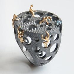 Selda Okutan makes beautiful handcrafted jewelry.