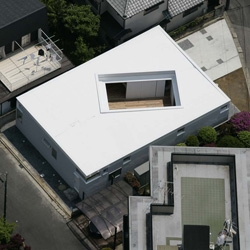 A house that looks particularly beautiful from the sky...